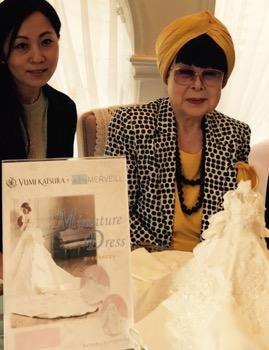 「YUMI KATSURA」✖️「MERVEILL 」憧れのドレス!  憧れの桂由美先生!